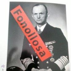 Militaria: FASCIMIL DE KARL DONITZ 13X18 CMS. Lote 70358141