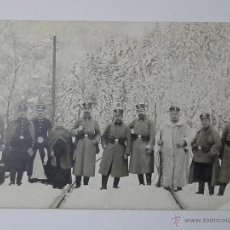 Militaria: 1915 - SOLDADOS PRUSIANOS ARMAS EN LA SELVA NEGRA - HORNBERG - FOTO, FOTOGRAFIA. Lote 46251965