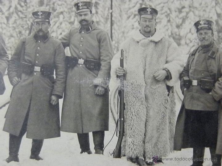 Militaria: 1915 - Soldados Prusianos armas en la selva negra - Hornberg - Foto, fotografia - Foto 2 - 46251965