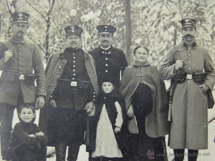 Militaria: 1915 - Soldados Prusianos armas en la selva negra - Hornberg - Foto, fotografia - Foto 3 - 46251965