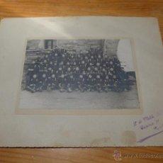 Militaria: ANTIGUA FOTOGRAFIA DE MILITARES, PRINCIPIOS S.XX. Lote 46257890