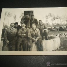 Militaria: BURGOS SOLDADOS ALEMANES GUERRA CIVIL FOTO TOMADA POR SOLDADO DE LA LEGION CONDOR. Lote 46365988