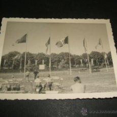 Militaria: SEVILLA AERODROMO DE TABLADA GUERRA CIVIL FOTOGRAFIA 1939 CAMPAMENTO LEGION CONDOR ANTES DE REGRESO . Lote 46366120