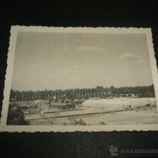 Militaria: SEVILLA AERODROMO DE TABLADA GUERRA CIVIL FOTOGRAFIA 1939 CAMPAMENTO LEGION CONDOR ANTES DE REGRESO . Lote 46366139
