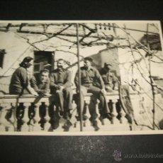 Militaria: LERIDA LLEIDA GUERRA CIVIL SOLDADOS ALEMANES EN SU RESIDENCIA FOTOGRAFIA POR SOLDADO LEGION CONDOR. Lote 46380243