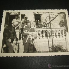 Militaria: LERIDA LLEIDA GUERRA CIVIL SOLDADOS ALEMANES EN SU RESIDENCIA FOTOGRAFIA POR SOLDADO LEGION CONDOR. Lote 46380255