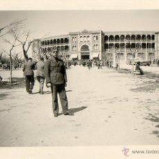 Militaria: FOTOGRAFIA LEGION CONDO-PLAZA DE TOROS DE SALAMANCA-III AÑO TRIUNFAL-9 ABRIL 1939-FOTO NUMERO -1. Lote 46412962