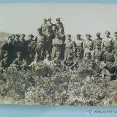 Militaria: GUERRA DE AFRICA : OFICIALES Y SOLDADOS DE ARTILLERIA . Lote 46472200