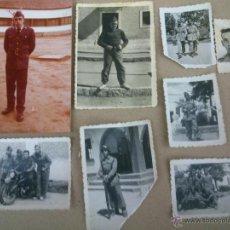 Militaria: LOTE DE ANTIGUAS FOTOS DE MILITARES EJERCITO. Lote 46475384