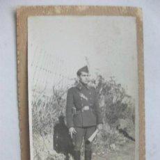 Militaria: GUERRA CIVIL: FOTO DE SOLDADO DE ARTILLERIA . FOTO ESPAÑA , MELILLA ... Lote 46518401