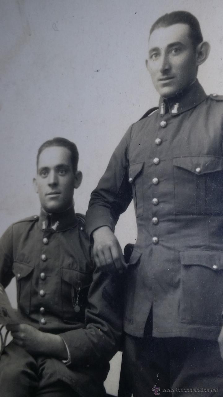 FOTOGRAFIA DE SOLDADOS DE INGENIEROS (Militar - Fotografía Militar - Otros)