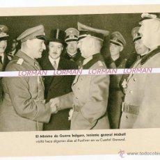 Militaria: LAMINA FOTOGRAFICA PROPAGANDA ALEMANA II GUERRA MUNDIAL - ORIGINAL -. Lote 46706335