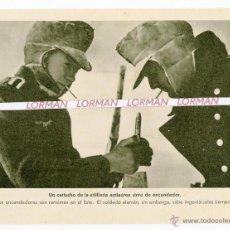 Militaria: LAMINA FOTOGRAFICA PROPAGANDA ALEMANA II GUERRA MUNDIAL - ORIGINAL - . Lote 46706344