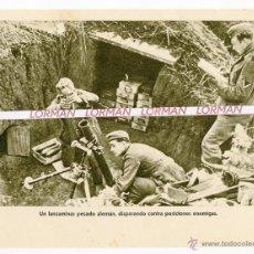 Militaria: LAMINA FOTOGRAFICA PROPAGANDA ALEMANA II GUERRA MUNDIAL - ORIGINAL - . Lote 46706356