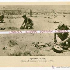 Militaria: ALEMANIA II GUERRA MUNDIAL LAMINA FOTOGRAFICA PROPAGANDA ALEMANA - ORIGINAL - . Lote 46706436
