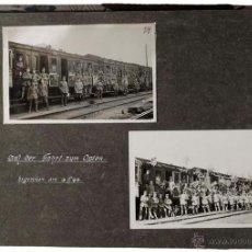 Militaria: FOTOALBUM DE LA I GUERRA MUNDIAL CON FOTOGRAFÍAS DE WOLHYRIEN 1916-1918.. Lote 46879509