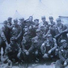 Militaria: FOTOGRAFÍA SOLDADOS DIVISIÓN ACORAZADA BRUNETE.. Lote 46917468