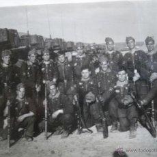 Militaria: FOTOGRAFÍA SOLDADOS DEL EJÉRCITO ESPAÑOL. DIVISIÓN ACORAZADA BRUNETE. Lote 46918917