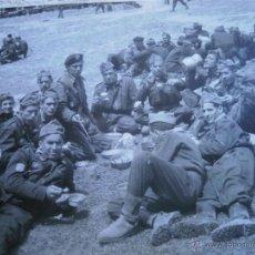 Militaria: FOTOGRAFÍA SOLDADOS DIVISIÓN ACORAZADA BRUNETE.. Lote 46926480
