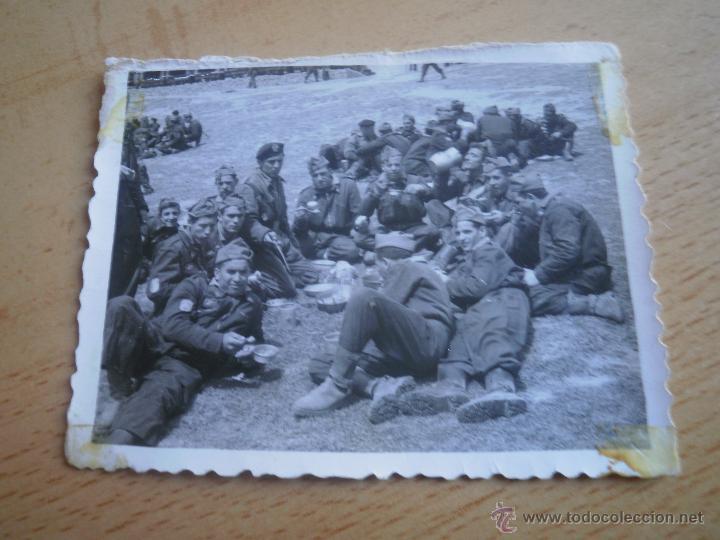 Militaria: Fotografía soldados División Acorazada Brunete. - Foto 2 - 46926480
