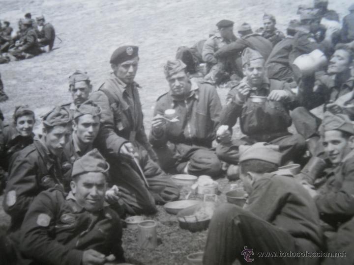 Militaria: Fotografía soldados División Acorazada Brunete. - Foto 4 - 46926480