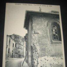 Militaria: FACHADA EN PLAZA ALFONSO EL CASTO. OVIEDO CIUDAD MARTIR DEL 5 AL14 OCTUBRE 1934. GUERRA CIVIL ESPAÑA. Lote 47042696