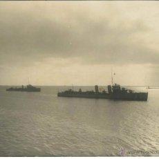 Militaria: FOTOGRAFIA DESTRUCTORES CERVANTES Y JUAN DE GARAY AÑO 1927. Lote 47051933