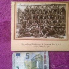 Militaria: GERONA 1930. MILITARES. REGIMIENTO DE INFANTERÍA ASIA 55. Lote 47067144