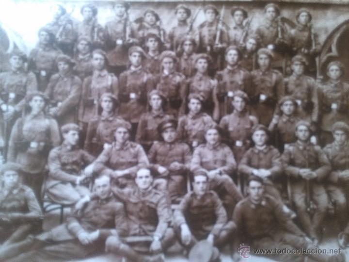 Militaria: Gerona 1930. Militares. Regimiento de infantería Asia 55 - Foto 2 - 47067144
