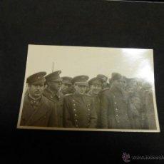 Militaria: FANTASTICA FOTOGRAFIA ORIGINAL DE OFICIALES DEL EJERCITO, GUERRA CIVIL?. Lote 47092183