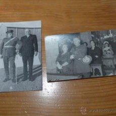 Militaria: LOTE 2 FOTO DE MILITAR ESPAÑOL, CONDECORADO GUERRA CIVIL. Lote 47135714