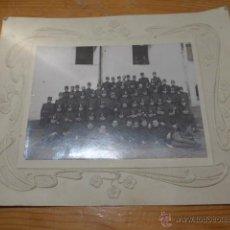 Militaria: ANTIGUA FOTOGRAFIA DE GASTADORES ZAPADORES REG 73, ORIGINAL, ALFONSO XIII. . Lote 47135841