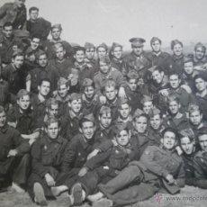 Militaria: FOTOGRAFÍA SOLDADOS DIVISIÓN ACORAZADA BRUNETE.. Lote 47142924