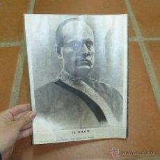 Militaria: ANTIGUA FOTO IL DUCE MUSSOLINI. Lote 47239383