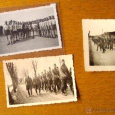 Militaria: LOTE FOTOGRAFIAS ALEMANAS, NAZIS, DEPORTE, TRABAJO, TERCER REICH ORIGINALES. Lote 47349229
