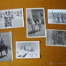 Militaria: LOTE FOTOGRAFIAS GUERRA CIVIL Y LEGION ACTUAL. Lote 47350030