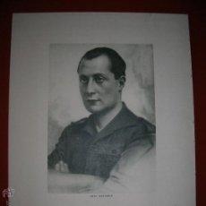 Militaria: RETRATO OFICIAL DE JOSE ANTONIO PRIMO DE RIVERA.ED.CASA SABATER.ZARAGOZA.1960.. Lote 47507158