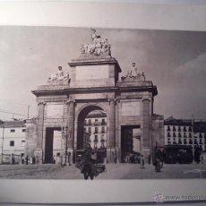 Militaria: FOTO FOTOGRAFÍA DE LA PUERTA DE TOLEDO (MADRID) GUERRA CIVIL 1936. Lote 47734948