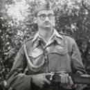 Militaria: FOTOGRAFÍA SOLDADO DEL EJÉRCITO ESPAÑOL MILICIAS UNIVERSITARIAS. AMETRALLADORAS. Lote 47917854