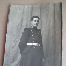 Militaria: ANTIGUA FOTOGRAFIA MILITAR SEVILLA PP. SIGLO XX // PROBABLEMENTE REGIMIENTO ARTILLERIA ALFONSO XIII. Lote 47921839