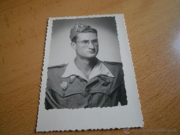 Militaria: Fotografía alférez del ejército español. Milicias Universitarias IPS 1951 - Foto 4 - 47936881