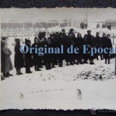 Militaria: (JX-2160)FOTOGRAFIA DEL CAPELLAN D.JOSE Mª.VIVES GODALL,DIVISION AZUL,FUNERAL DIVISIONARIO(PORCHOW). Lote 48035314
