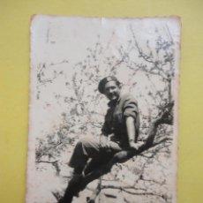 Militaria: FOTOGRAFÍA ANTIGUA ORIGINAL. GUERRA CIVIL. SOLDADO (8,5 X 6 CM) 1938. Lote 48197199