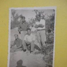 Militaria: FOTOGRAFÍA ANTIGUA ORIGINAL. GUERRA CIVIL. SOLDADOS. SAN JORGE. 6 NOVIEMBRE 1938. Lote 48197354