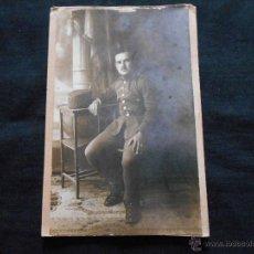 Militaria: FOTO MILITAR ESPAÑOL FECHADA MADRID 1-10-1892. Lote 48341261