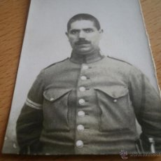 Militaria: FOTOGRAFÍA GUARDIA CIVIL. ALFONSO XIII GUARDIA PRIMERO. Lote 48344234