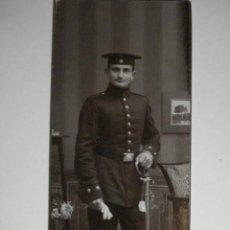 Militaria: ALEMANIA GERMANY BONITA FOTOGRAFIA MILITAR EN CARTULINA DURA - AÑOS 1880-1910. Lote 48408290