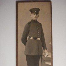 Militaria: ALEMANIA GERMANY BONITA FOTOGRAFIA MILITAR EN CARTULINA DURA - AÑOS 1880-1910. Lote 48408367