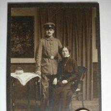 Militaria: ALEMANIA GERMANY BONITA FOTOGRAFIA MILITAR EN CARTULINA DURA - TAMAÑO GRANDE - AÑOS 1880-1910. Lote 48408383