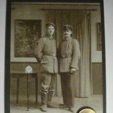 Militaria: ALEMANIA GERMANY BONITA FOTOGRAFIA MILITAR EN CARTULINA DURA - TAMAÑO GRANDE - AÑOS 1880-1910. Lote 48408386